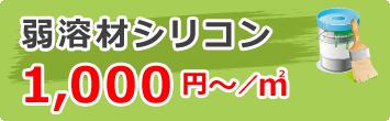 弱溶材シリコン1,000円~/㎡